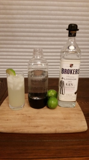 gin lime rickey