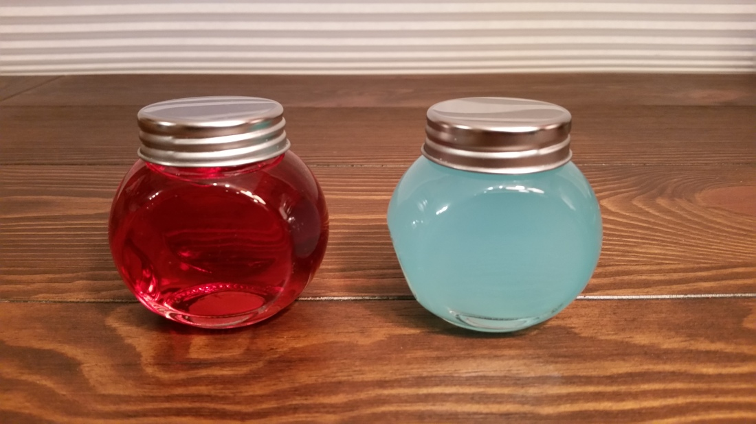 health and mana potions