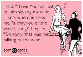 i love you wine