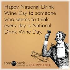 national drink wine day