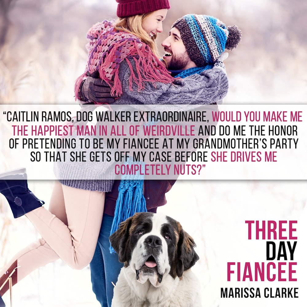 Three Day Fiancee quote