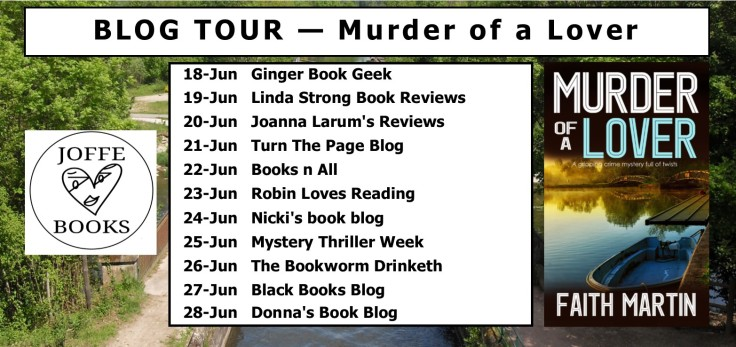 BLOG TOUR BANNER - Murder of a Lover