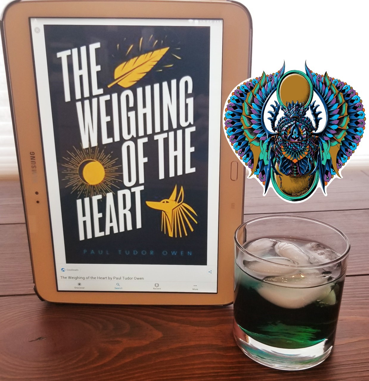 weighing of the heart drink